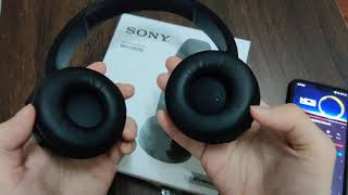 Sony WH-CH510 Wireless Quick Look & Test