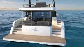 MY 44 new 2017 Power Catamaran from Fountaine Pajot