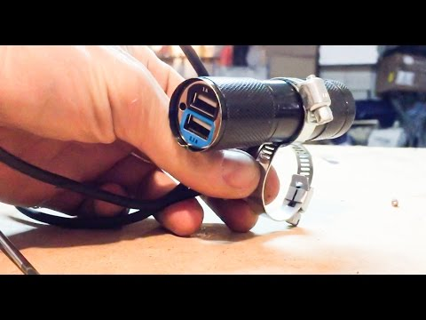 DIY water resistant motorcycle usb charger, under $10