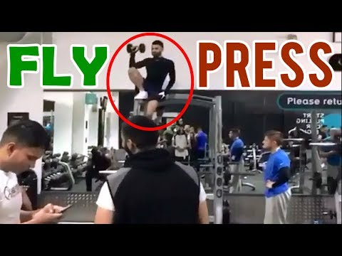 FLY PRESS 🏆 GYM FAIL 🏆