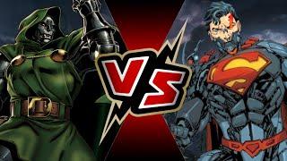 Dr. Doom VS Cyborg Superman | BATTLE ARENA