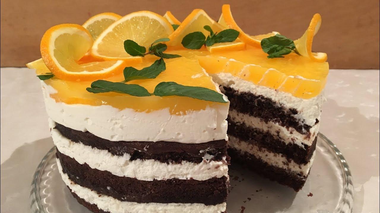 Portagalli Yeni Il Tortu Iyeni Il 2019 Sadə Və Asan Tort Youtube Desserts Food Cake