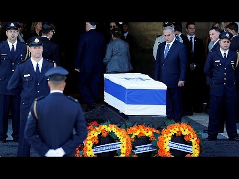 Israel begins paying last respects to Shimon Peres as his casket lies in state