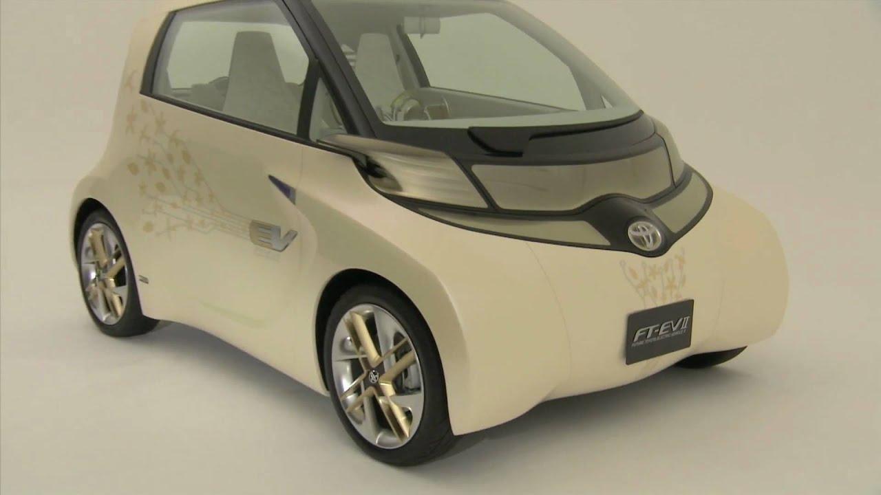 New Toyota Ft Ev Ii Concept Hd Youtube