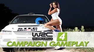 WRC 4 - FIA World Rally Championship: Campaign / Rally Gameplay [XBOX360/PS3/PC]