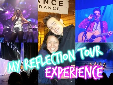 My Reflection Tour Experience + MEETING JACOB WHITESIDES