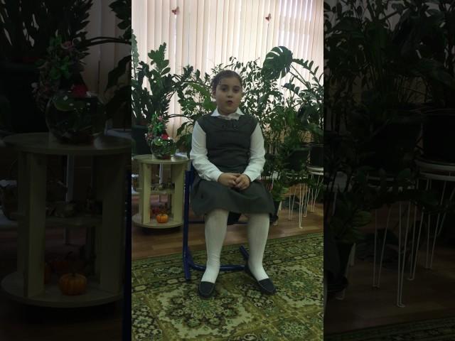 Изображение предпросмотра прочтения – АринаПириева читает произведение «Весна (Зима не даром злится…)» Ф.И.Тютчева