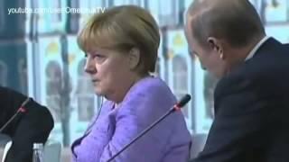"""بوتين يحدث ميركل"""" في ليلة الدخلة مهما فعلت سيتم نكاحك"""""""