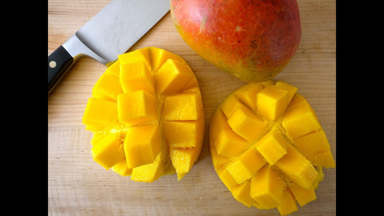 Quick Tip Recipe: How To Cut A Mango  Weelicious