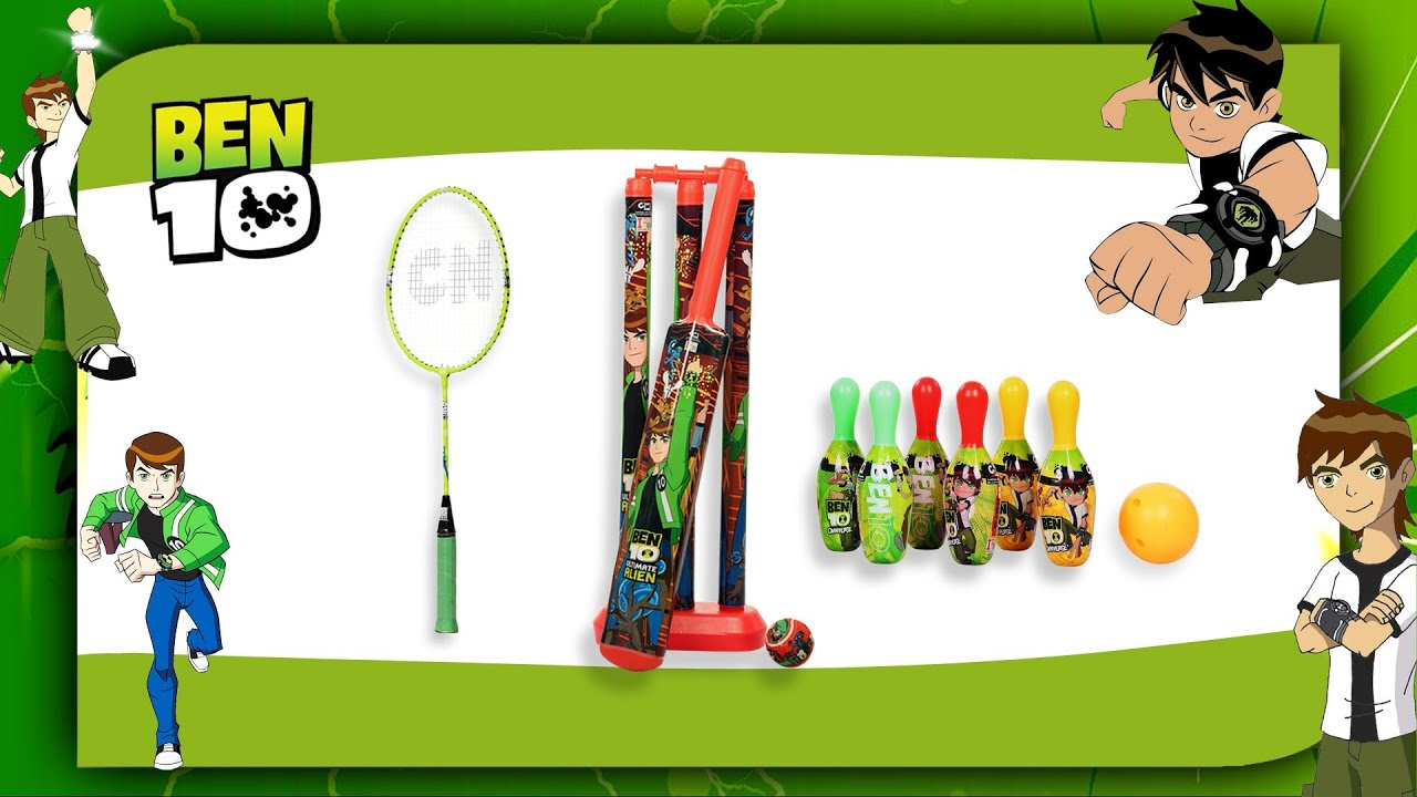 Homeshop18 I Toys Ben 10 bo Bowling Set Badminton