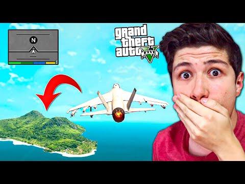 Esto ENCONTRÉ al LLEGAR a la N en GTA 5... Grand Theft Auto V - GTA V thumbnail