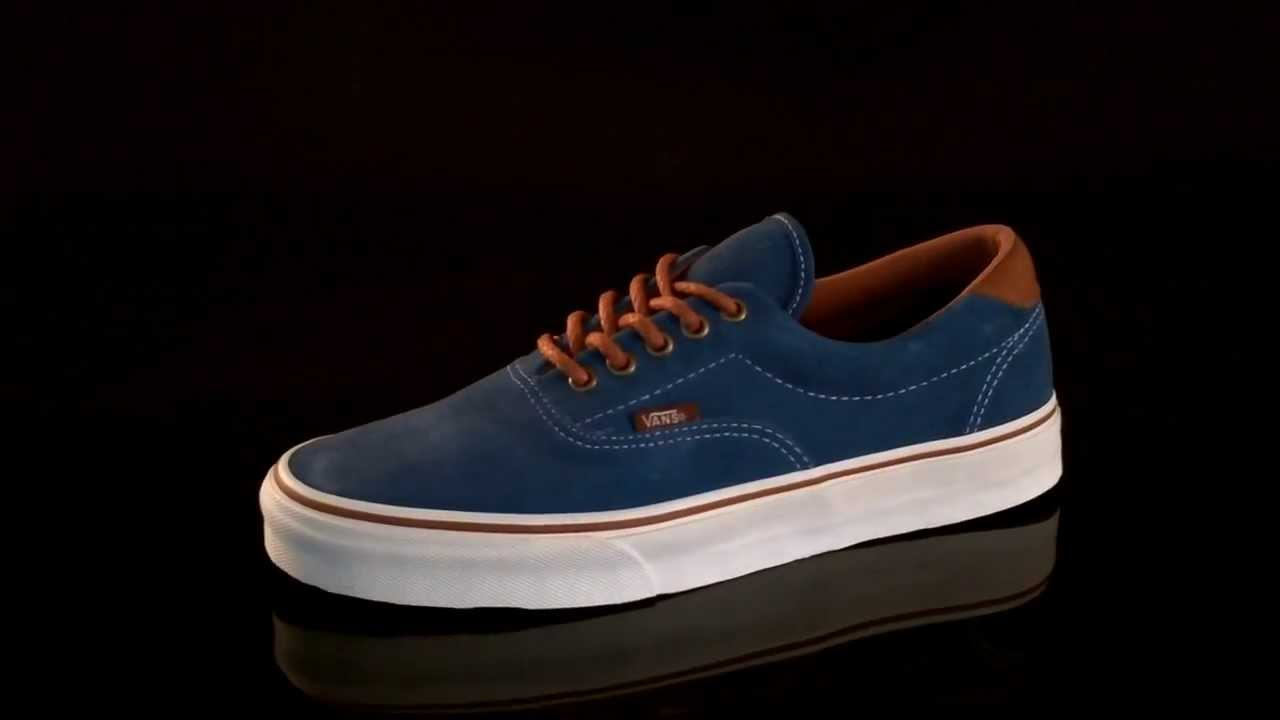 Vans U ERA 59 Sneaker Dark Blue Suede VUC64WA - YouTube 5dbe109a7