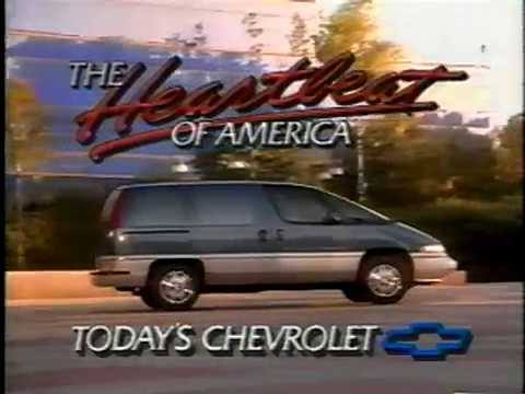 1991 Chevy Lumina Apv Youtube