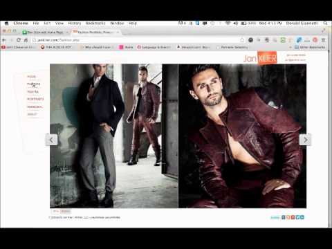 Jan Klier, Fashion Photographer Interview with Don Giannatti