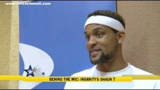 "Shaun T TV Interview - Insanity & ""What's Up With The Hair?"""