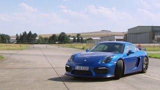 Porsche Cayman GT4: Fahrspaß-Offenbarung - Die Tester   auto motor und sport