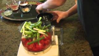 Hugh and Cutter Salsa Cooking Lesson