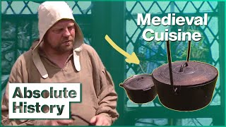 Food Of The Middle Ages | A Cook Back In Time | Absolute History