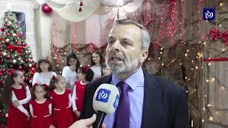 """الصايغ يضيء شجرة """"الميلاد"""" في الجمعية الأرثوذكسية بالعقبة - (13/12/2019)"""