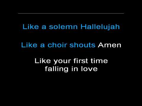 Move you - Lyrics in karaoke style - Kelly Clarkson