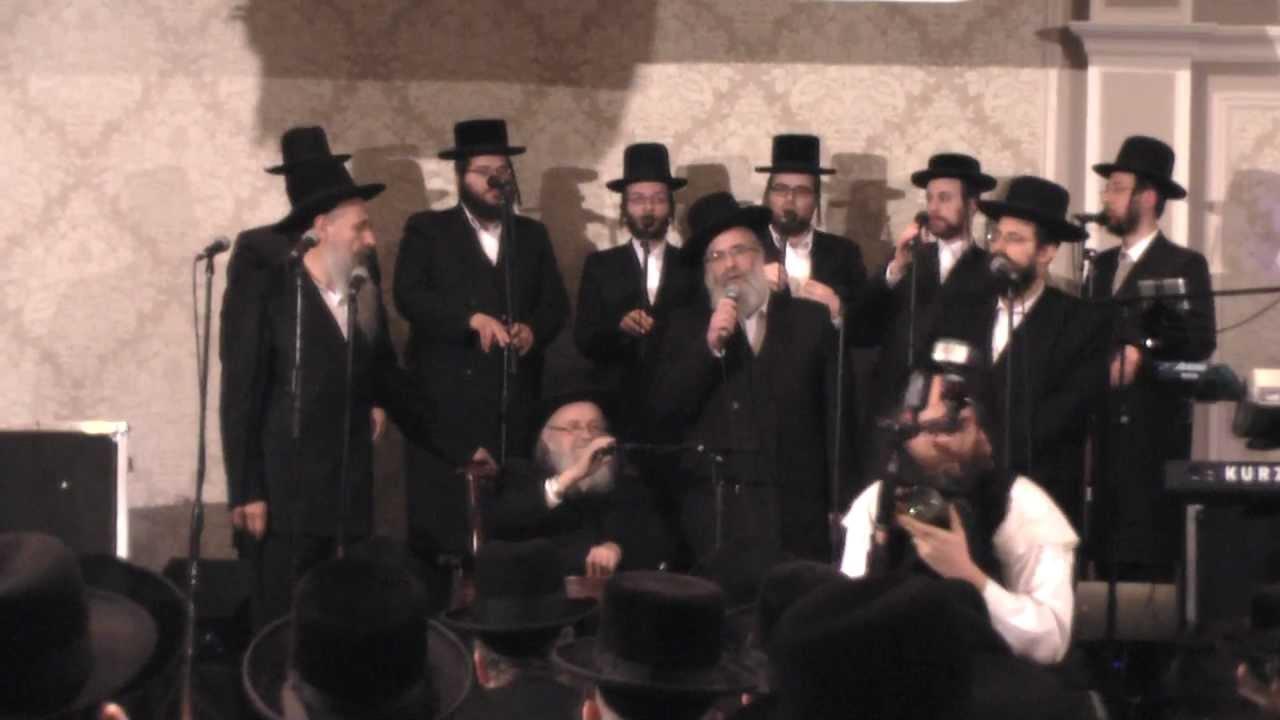 David, MBD, Mendy, and Yisroel Werdyger at RCCS Dinner 2012 - Yibaneh Hamikdash