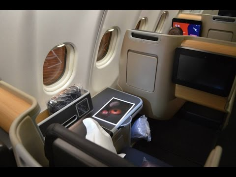 Qantas A330-300 Business Suites :  QF36 Singapore to Melbourne
