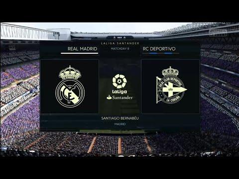FIFA 18 | La Liga Santander | Real Madrid v RC Deportivo | Santiago Bernabéu
