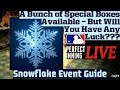 MLB Perfect Inning Live - Snowflake Special Event Guide - Will YOU Have The Box Luck???
