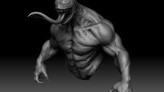 Venom Zbrush sculpt (old work)