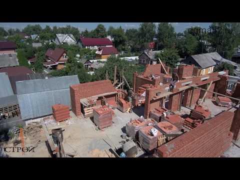 Обзор строительства дома 400м2. Второй этаж. Сормовский район, Нижний Новгород