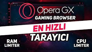 Opera GX KURULUM + AYARLAR (adım adım) EN HIZLI TARAYICI ! - KutuMix