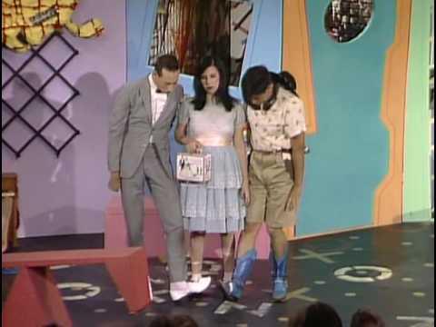 Pee Wee Herman Does Upskirt