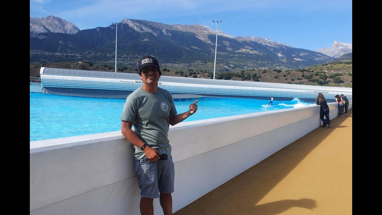 Primer juez peruano de surf en la famosa ola de Alaia bay / Suiza