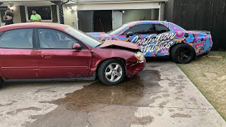 DRUNK DRIVER TOTALED MY DODGE DEMON.....