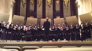 Vox Populi (Giedrius Svilainis) - Baylor University Concert Choir 2011
