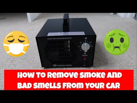 How to Remove Smoke Smells and dog smells From a Car Permanently
