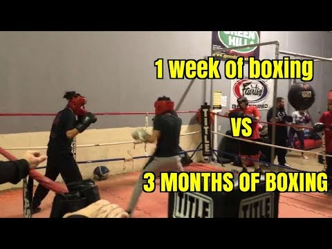 MY FIRST AND LAST BOXING MATCH (TRANSFORMATION)