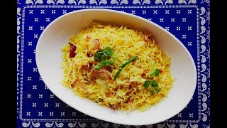 Chitranna (onion Rice)