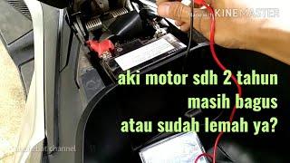 Berikut ini adalah informasi bagaimana mengetahui kondisi aki motor...