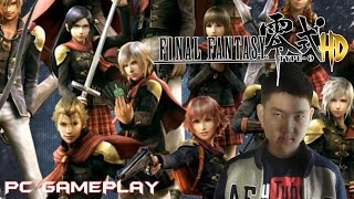 Final Fantasy Type-0 HD - Opening PC Gameplay (w/ Commentary)