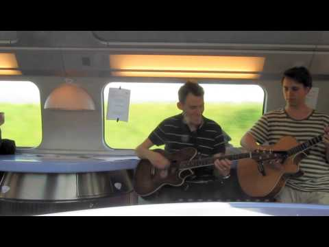 Omashay - concert on a TGV High-speed train