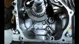 видео Поршень, Кольца, Шатун на двигатель Honda GXV 340