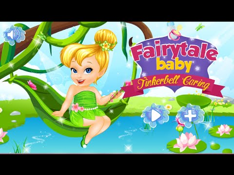 Disney Princess Online Games – Tinkerbell Bath & Dress Up Game