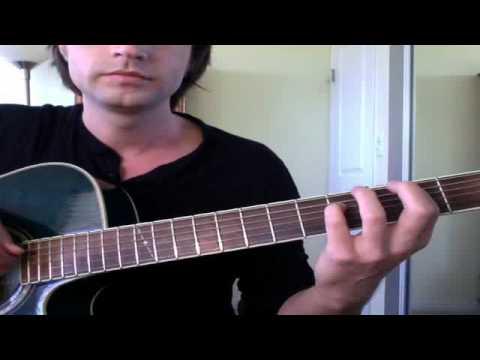 Slower Lesson - Jose Gonzalez HeartBeats - Tutorial / How To / Guitar Lesson