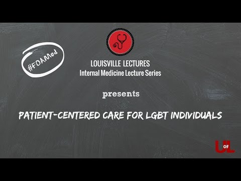 Patient-Centered Care For LGBT Individuals With Dr. Potter