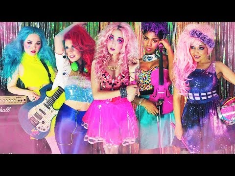 """Jem and the Holograms"" Live Action Music Video"