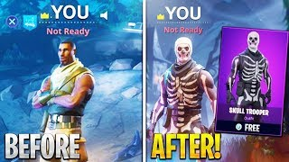 FORTNITE 81+ SKIN SKULL TROOPER!!! ACCOUNT GIVEAWAY + SHOWCASE
