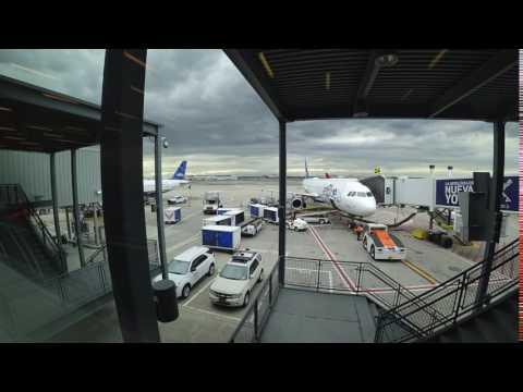 New York JFK Time-lapse