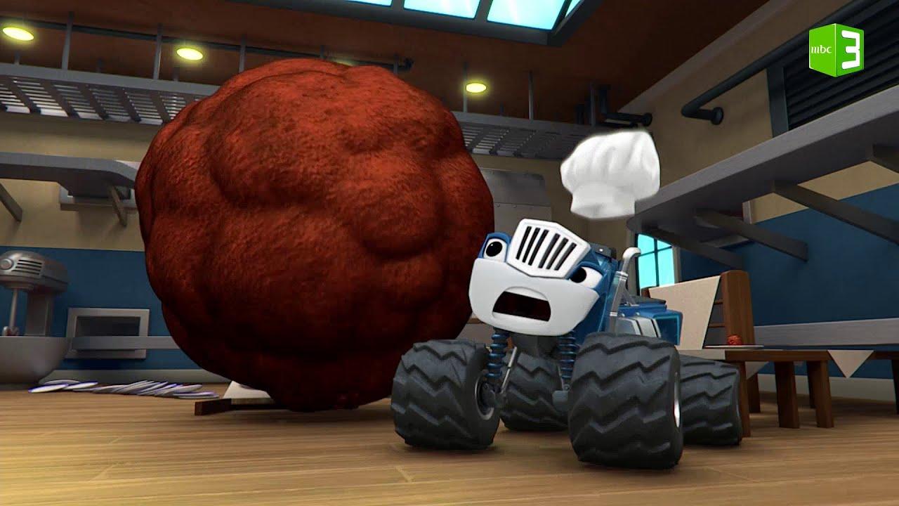 كراشير يصنع كرة اللحم العملاقة ?