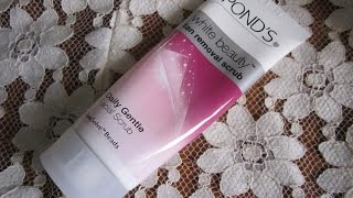 Ponds White Beauty Tan Removal ScrubReview sun dullness in Hindi